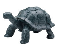 Realistic toy turtle isolated Stock Image
