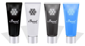 Realistic tube for cosmetics, cream, ointment, toothpaste, lotion, medicine creme etc. Place for your design and branding Royalty Free Stock Photography