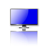 Realistic TV display vector illustration