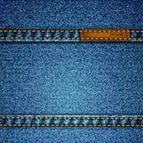 Realistic vector denim Stock Images