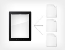 Realistic_Vector_Digital_Tablet_ 18(4) .jpg Photos libres de droits