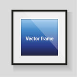 Realistic vector frame Royalty Free Stock Photo