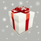 Realistic vector gift box Royalty Free Stock Images