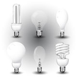 Realistic vector-illustration of a economy light b Stock Photos