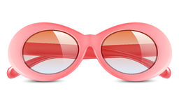 Realistic vector illustration of sunglasses Royalty Free Stock Photos