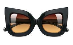 Realistic vector illustration of sunglasses stock illustration
