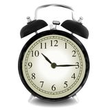 Realistic vector illustration of wall clock. Stock Photos