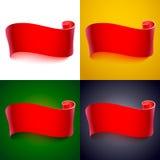 Realistic vector ribbon Royalty Free Stock Image