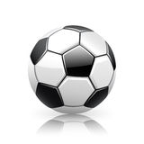 Realistic Vector Soccer Ball Royalty Free Stock Photography