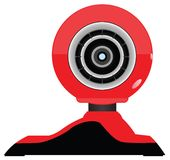 Realistic vector webcam Stock Photography