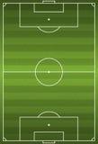 Realistic Vertical Football - Soccer Field Illustration Stock Photos