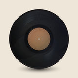Realistic vintage record Royalty Free Stock Photo