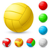 Realistic volleyball Stock Photo