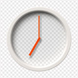 Realistic Wall Clock Royalty Free Stock Images