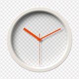 Realistic Wall Clock Stock Photo