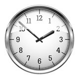 Realistic_Wall_Clock Royalty Free Stock Photos