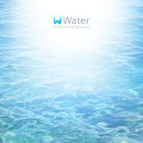 Realistic water Royalty Free Stock Image