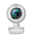 Realistic webcam Royalty Free Stock Photo