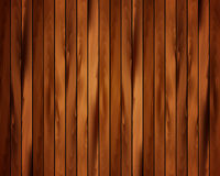 Realistic wooden background Stock Image