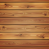 Realistic wooden background. Planks Stock Images