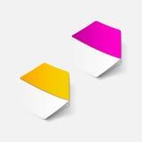 Realistisch ontwerpelement: hexagon stock illustratie