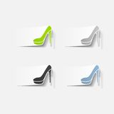 Realistisch ontwerpelement: schoen vector illustratie