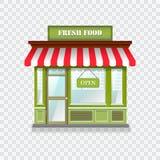 Realistisch winkelpictogram Stock Foto