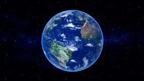 Realistische Aarde royalty-vrije illustratie