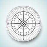 Realistische compas Vektor-Ikonenillustration Stockfoto