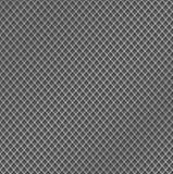 Realistische de textuurachtergrond van het metaalnet Structuur van de omheining van het metaalnetwerk met hoogtepunten en schaduw Royalty-vrije Stock Foto's
