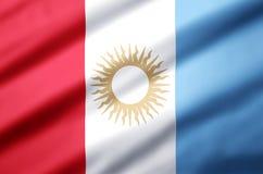 Realistische de vlagillustratie van Cordoba stock illustratie