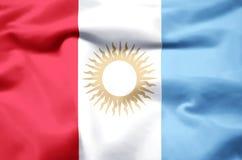 Realistische de vlagillustratie van Cordoba royalty-vrije illustratie