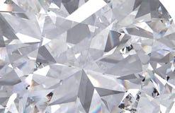 Realistische dichte omhooggaand van de diamanttextuur stock fotografie