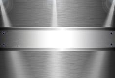 Realistische donkere koolstofvezel Stock Foto