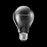 Realistische Glühlampe stock abbildung