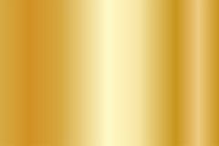 Realistische gouden textuur De glanzende gradiënt van de metaalfolie Royalty-vrije Stock Foto's