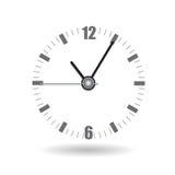 Realistische het Horloge Vectorillustratie van het Klokalarm Stock Foto's
