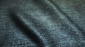 Realistische jeans die in de wind golven Abstracte ultra-HD resolutie als achtergrond De textuur van de close-upstof Naadloze lij royalty-vrije illustratie