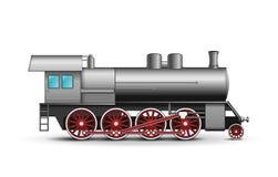 Vector Locomotief Royalty-vrije Stock Afbeeldingen