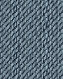 Realistische nahtlose Beschaffenheit Jean-Musters stock abbildung