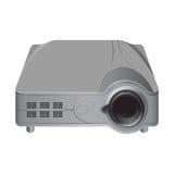 Realistische projector van verschillende media Royalty-vrije Stock Foto