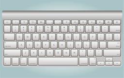 Realistische toetsenbordvector Stock Afbeeldingen