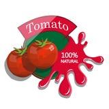 Realistische Tomate Stockfotografie