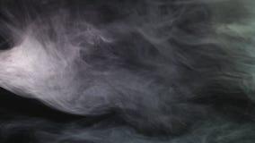 Realistische Trockeneisrauchwolken nebeln die ?berlagerung ein, die f?r das Compositing in Ihre Sch?sse perfekt ist E stock footage