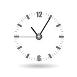 Realistische Uhr-Warnungs-Uhr-Vektor-Illustration Stockfotos