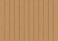 Realistische vector bruine houten van het plaatpatroon textuur als achtergrond Royalty-vrije Stock Foto