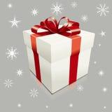 Realistische vektorGeschenkbox Lizenzfreie Stockbilder