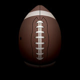 Realistische vertikale amerikanischer Fußball-Illustration Lizenzfreies Stockbild