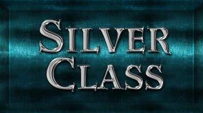 Realistischer Chick Metal Silver Class Award stockfotos