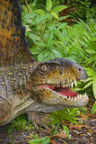 Realistischer Dinosaurier-Kopf Stockbild